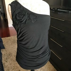 Cute one shoulder tank